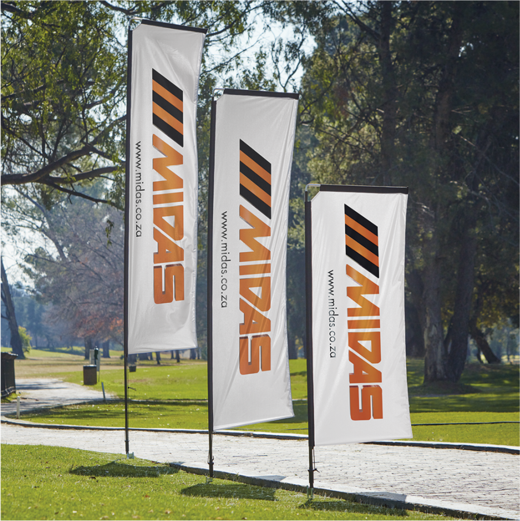 Telescopic Banners Deluxe Single Sided - Digital - Skin Only