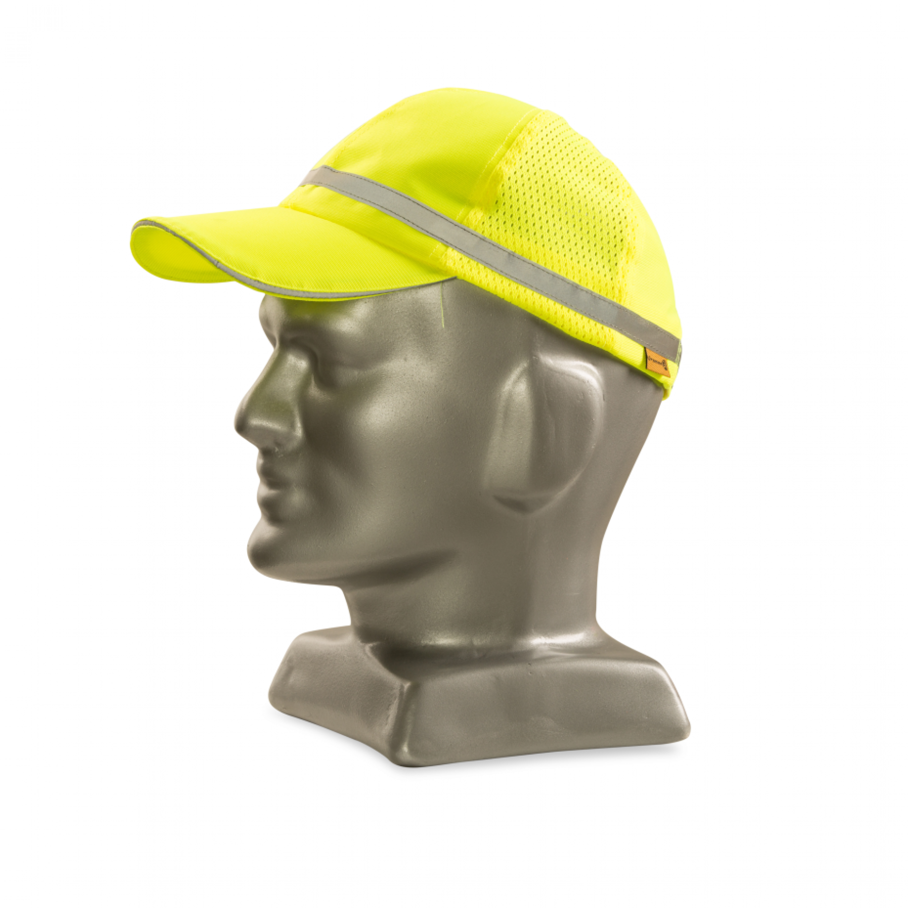 Lime Reflective Baseball Cap