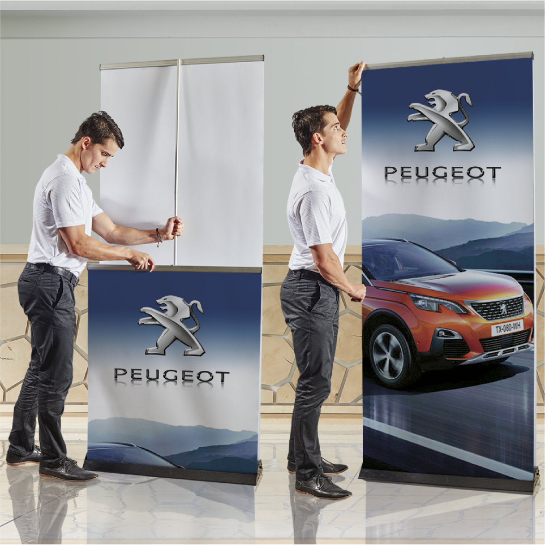 Pull Up Banner Double Sided - Bannerweave