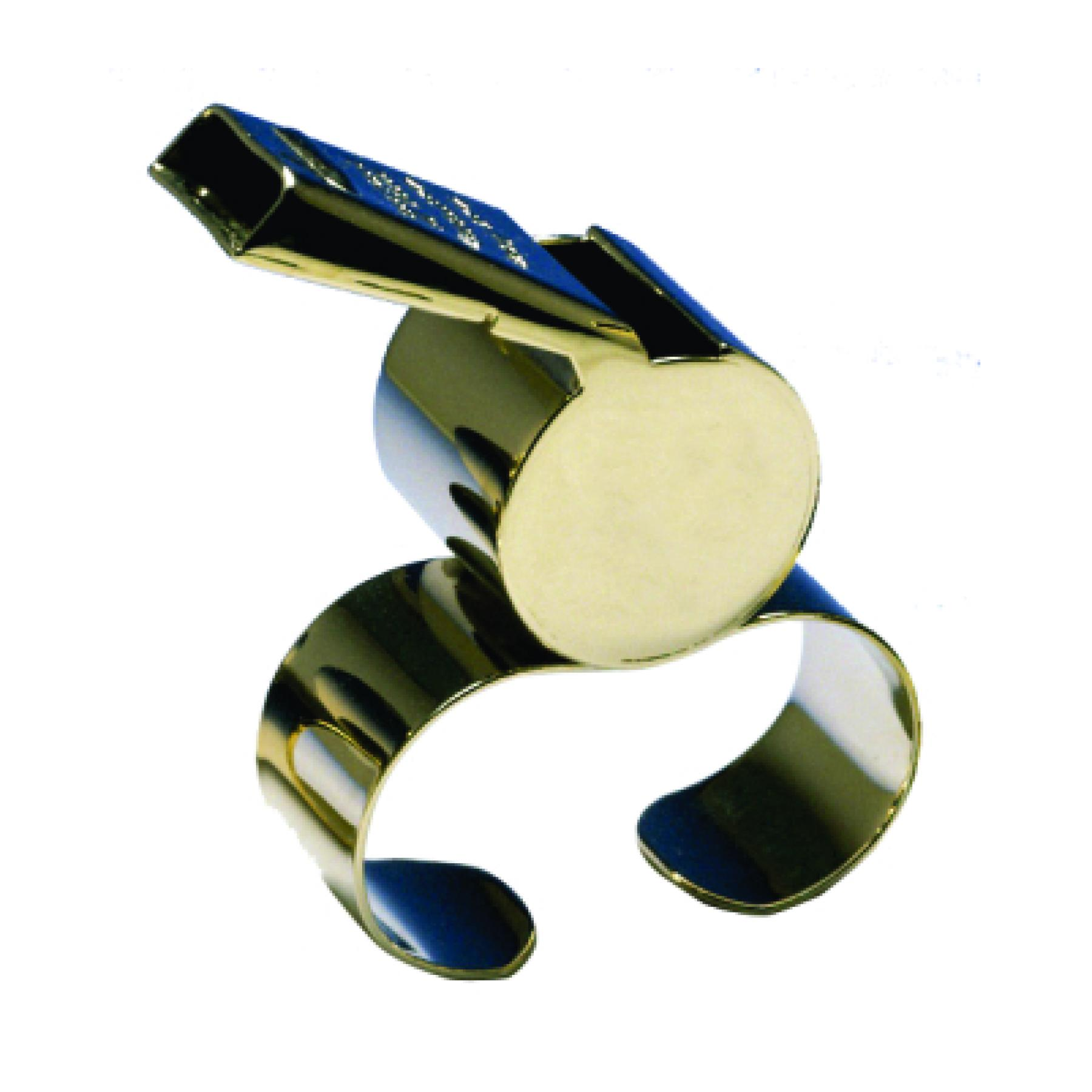 Acme 477/58.5 Thunderer Brass Fingergrip Whistle