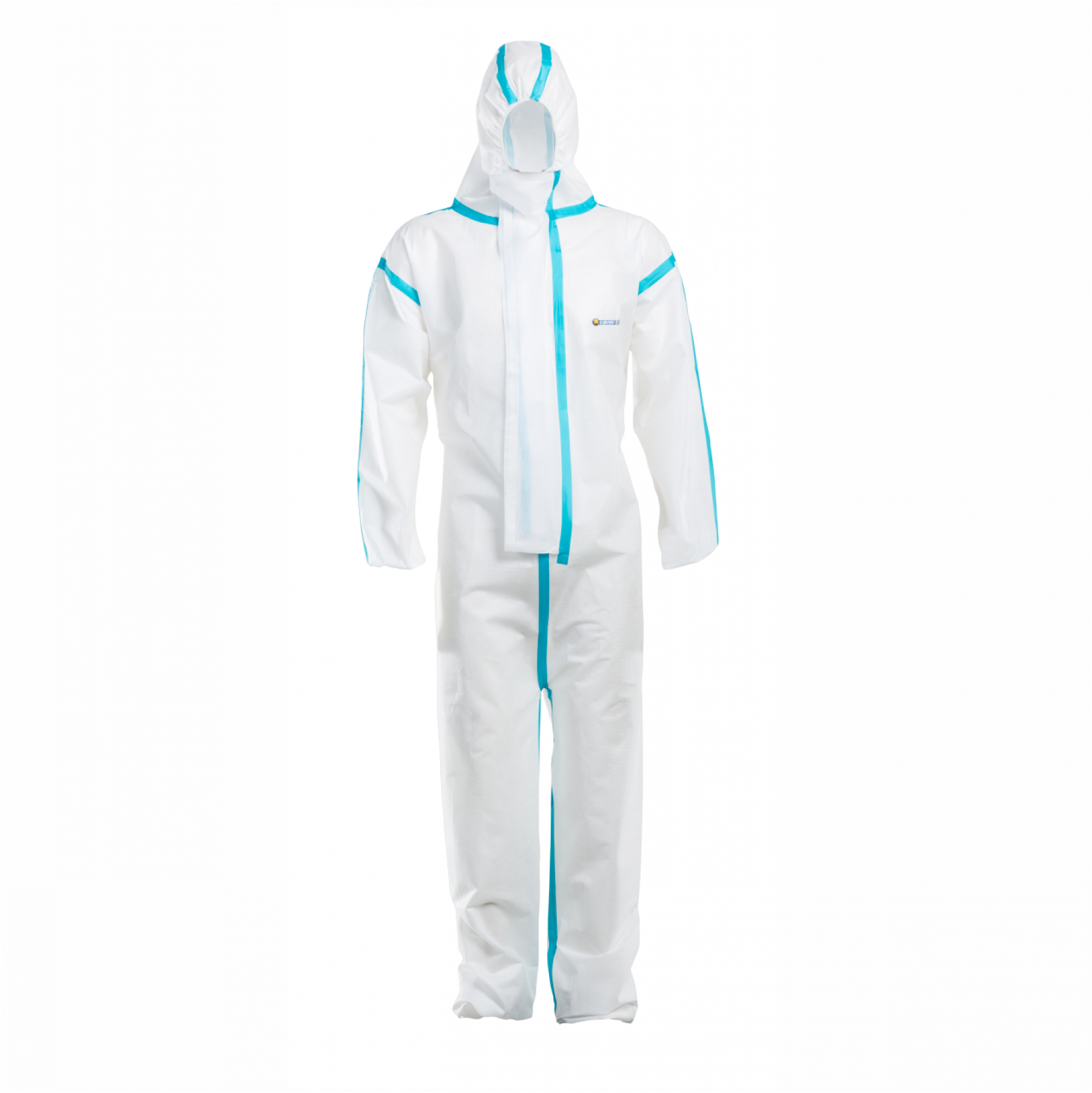 Coverstar Super Seal White Disposable Suit, Size M