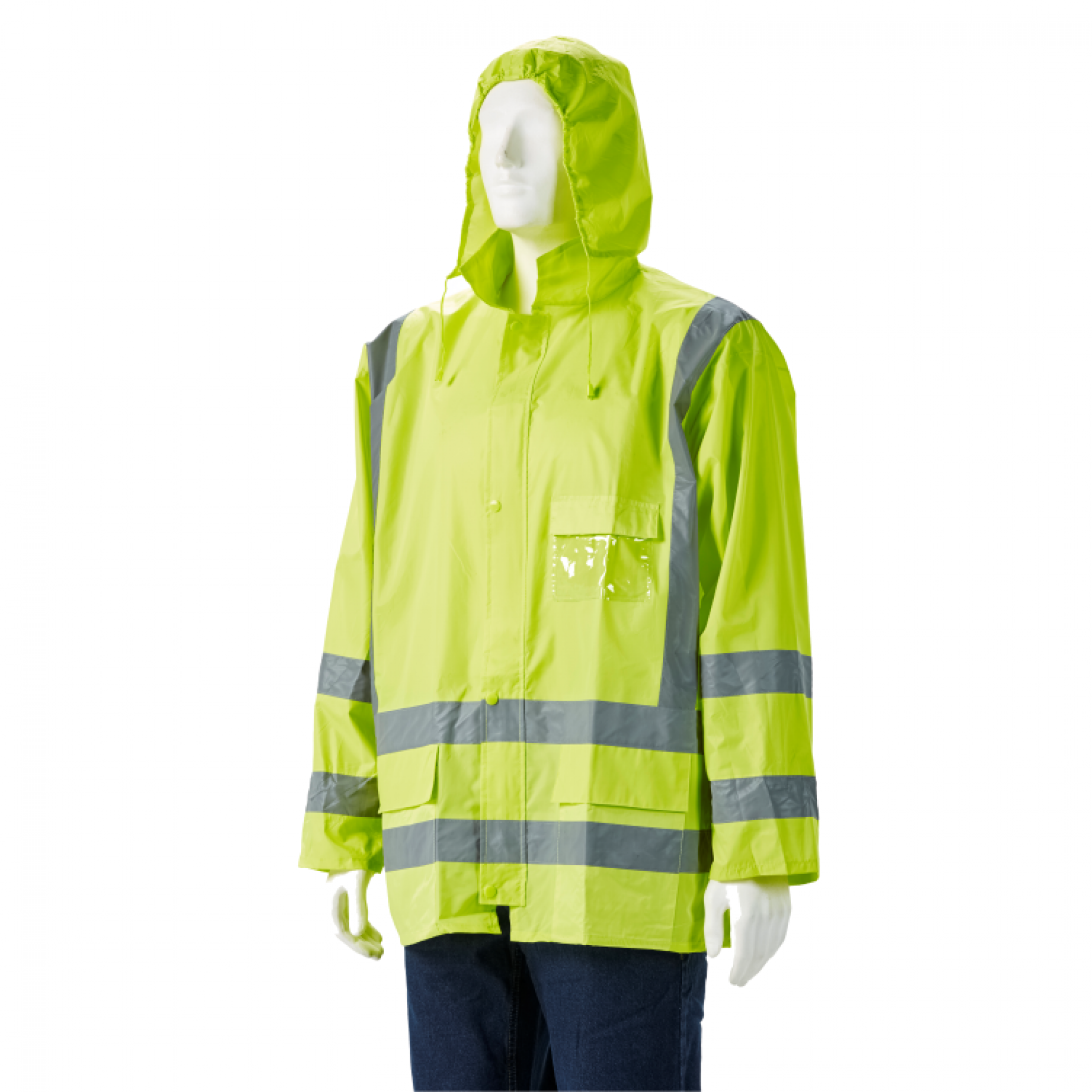 Lime High Viz Jacket, 2x Large