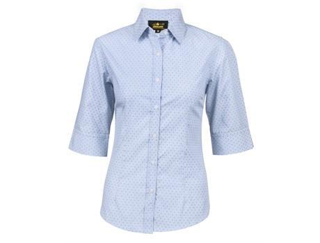 Ladies 3/4 Sleeve Duke Shirt