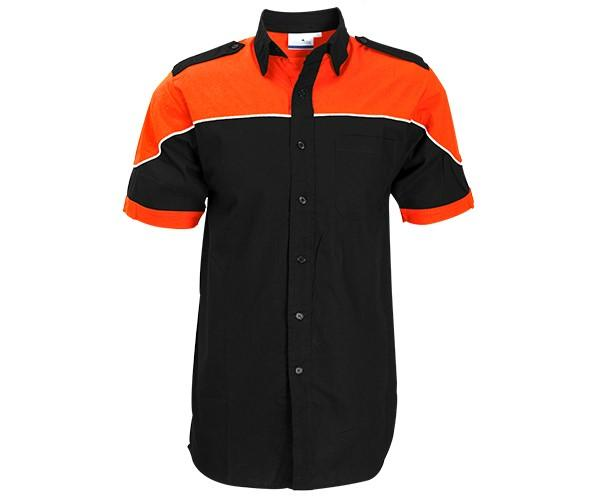 Mens Short Sleeve Racer Shirt