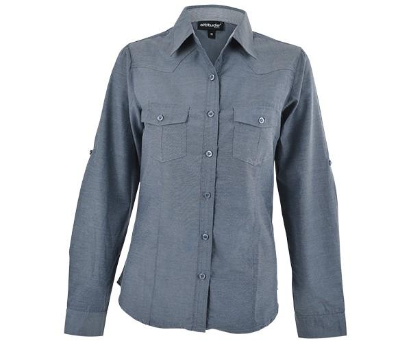 Ruby Blouse - Charcoal