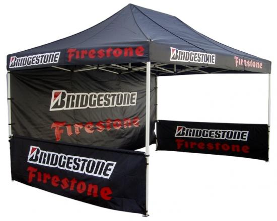 Exposure Gazebo Half Wall 4.5m X 0.85m