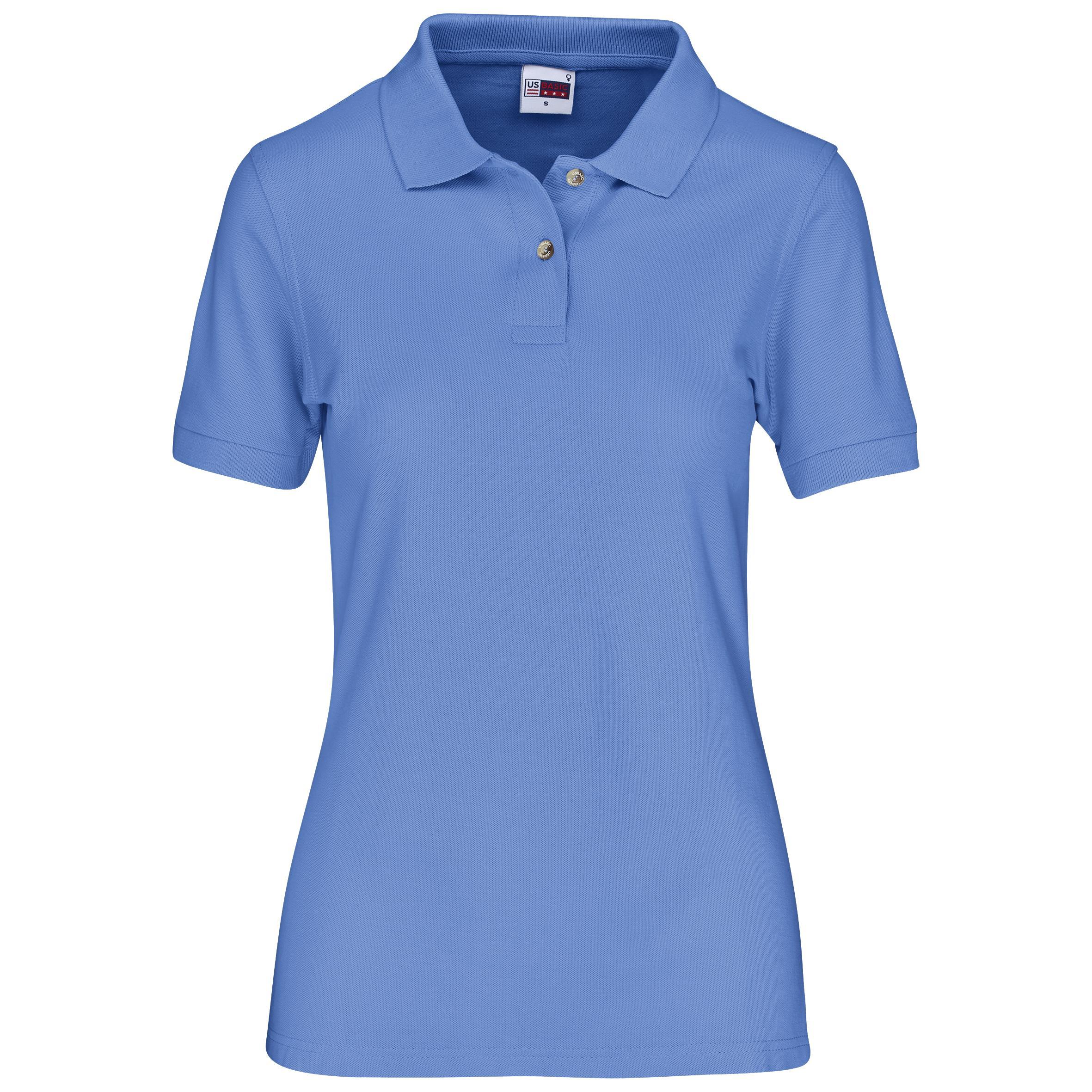 Ladies Boston Golf Shirt - Ocean Blue Only