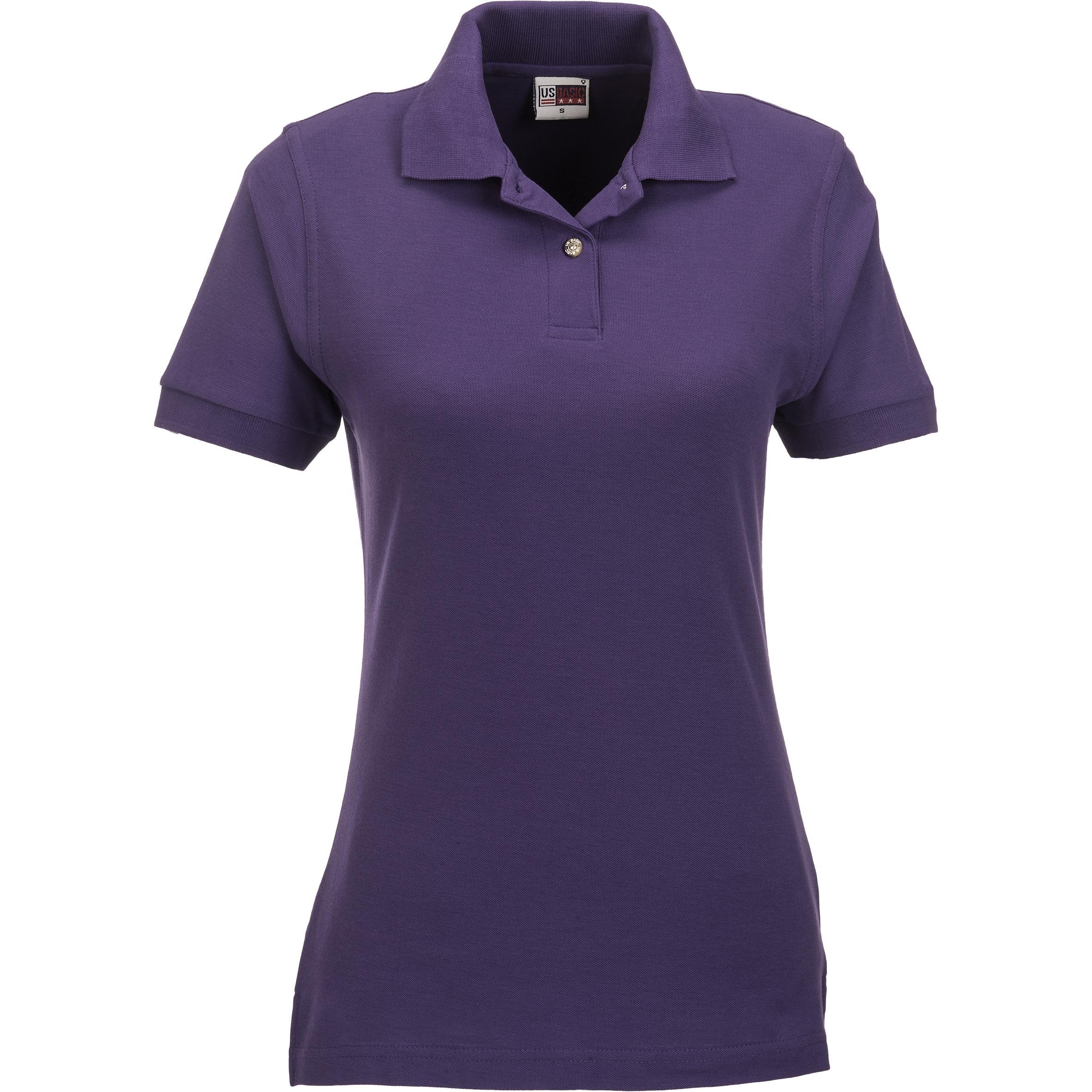 Ladies Boston Golf Shirt - Purple Only