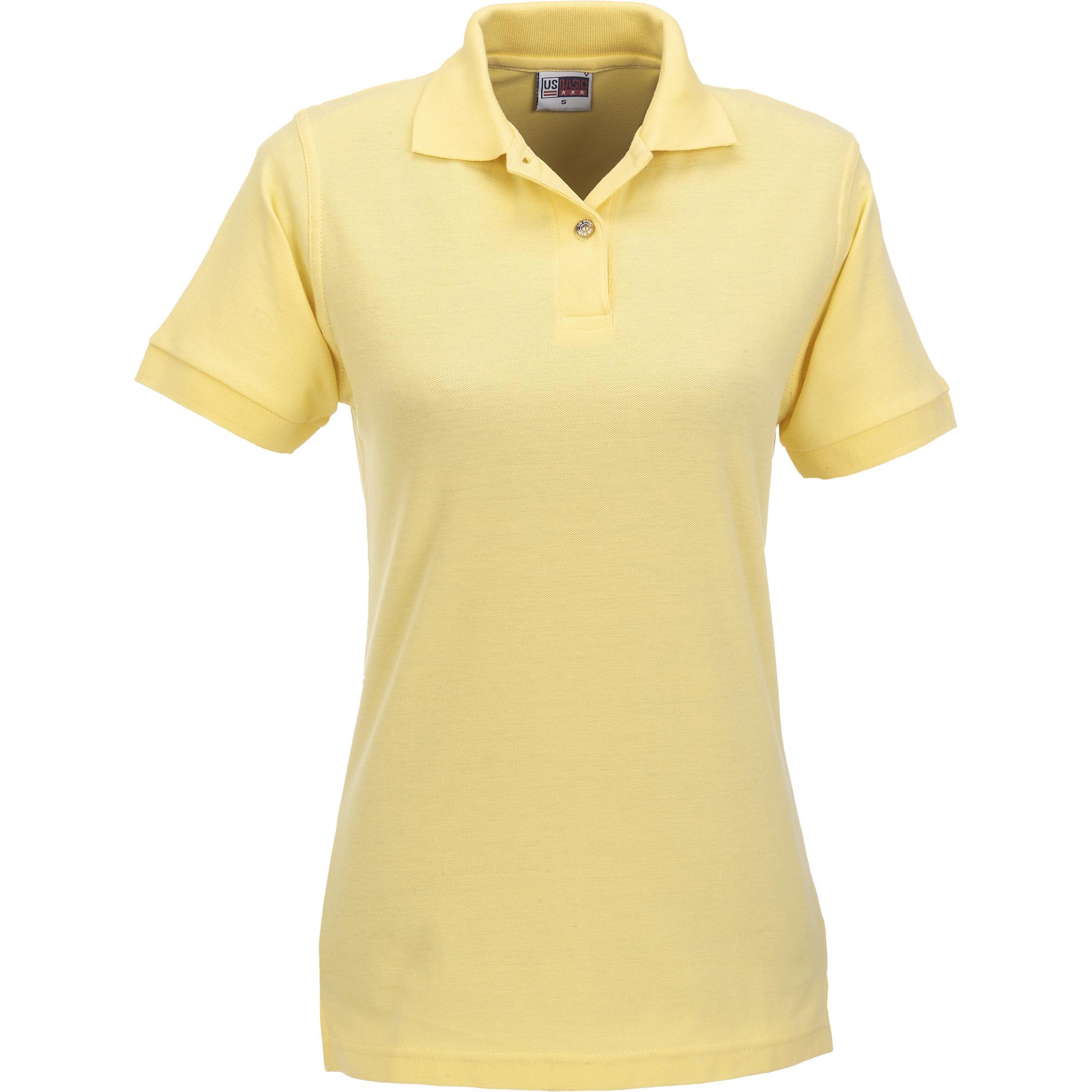 Ladies Boston Golf Shirt - Yellow Only
