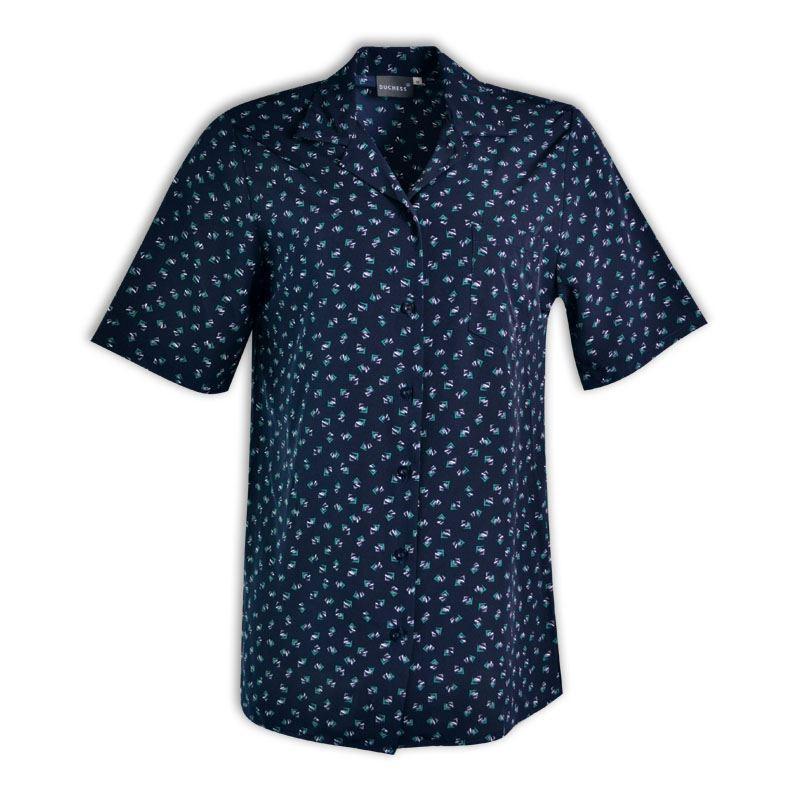 Penny Short Sleeve Blouse - Starburst Design