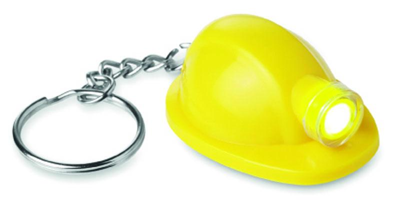 Hard Hat Torch Keyring