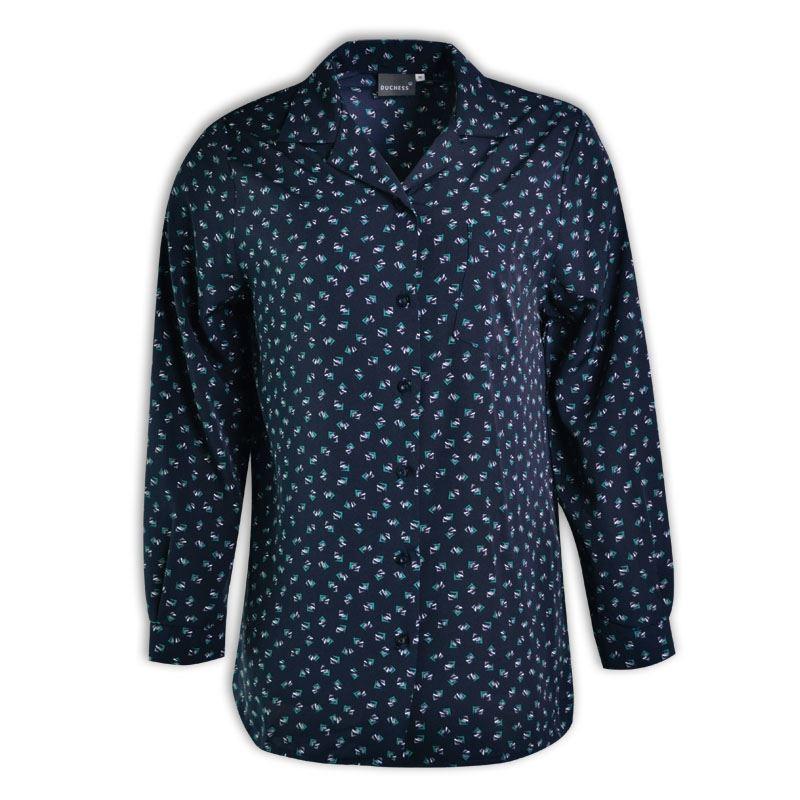 Penny Long Sleeve Blouse - Starburst Design