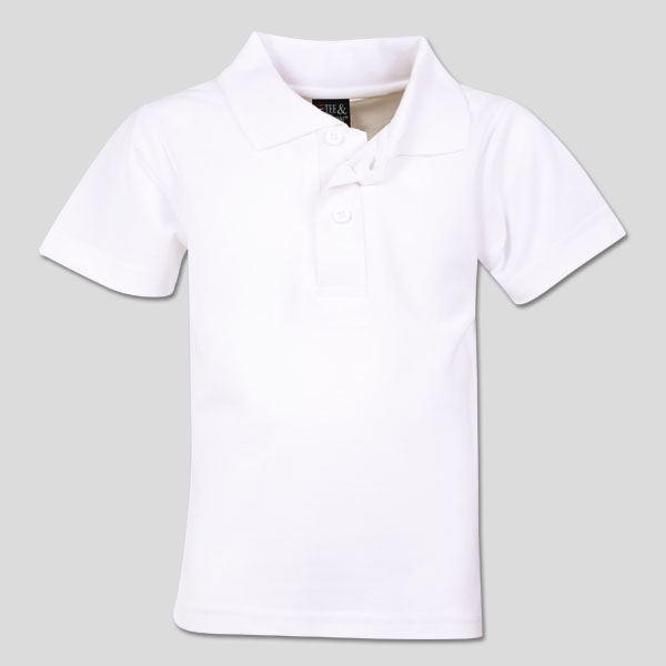 Youth Classic Pique Knit Polo (cm) - While Stocks Last