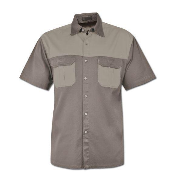 Heavy Duty Two-tone Bush Shirt