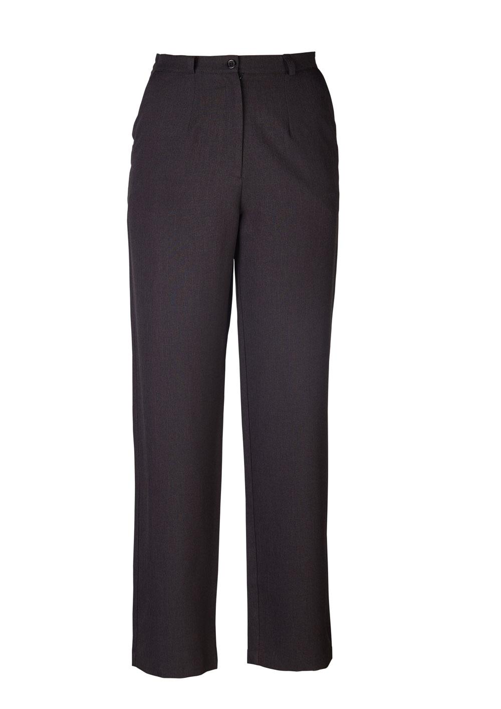 Kerry Straight Cut Slacks - Cationic Charcoal