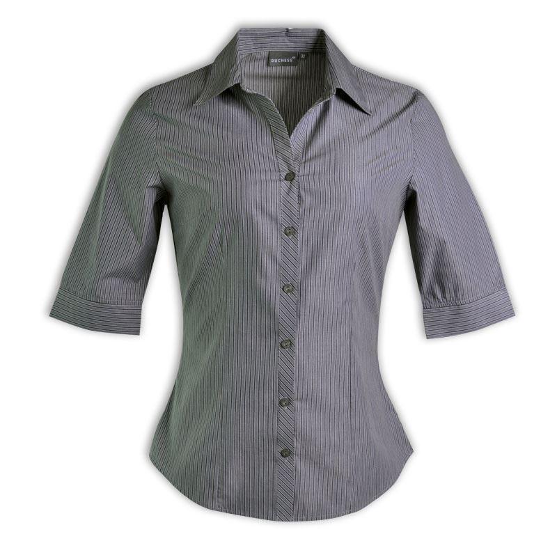 Donna Blouse 3/4 Sleeve - Stripe 6