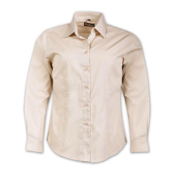 Ladies Classic Woven Shirt Short Sleeve
