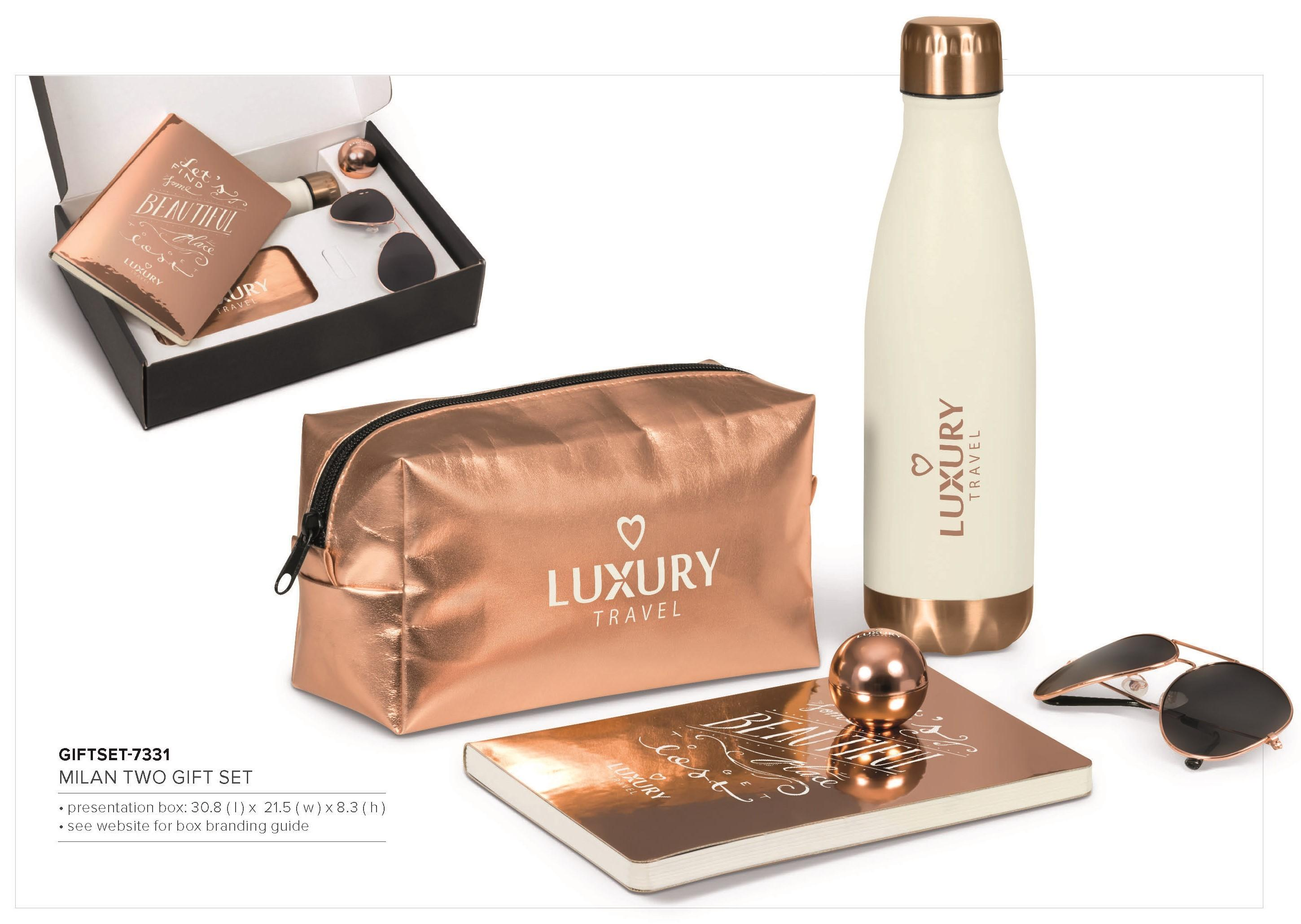 Milan Two Gift Set - Rose Gold Only