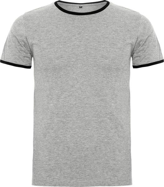 Dallas Contrastt-shirt-s/grey & Black