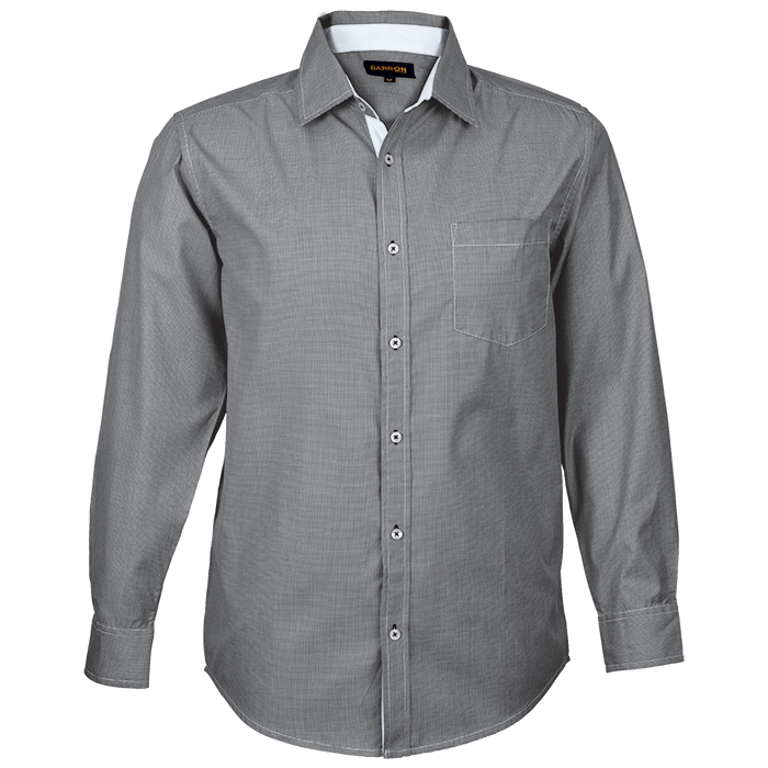 Mens Chicago Lounge Shirt Long Sleeve (lo-chi)
