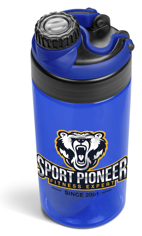 Sports & Wellness | Gianna Water Bottle Protein Shaker - 600ml - Blue Only - 1