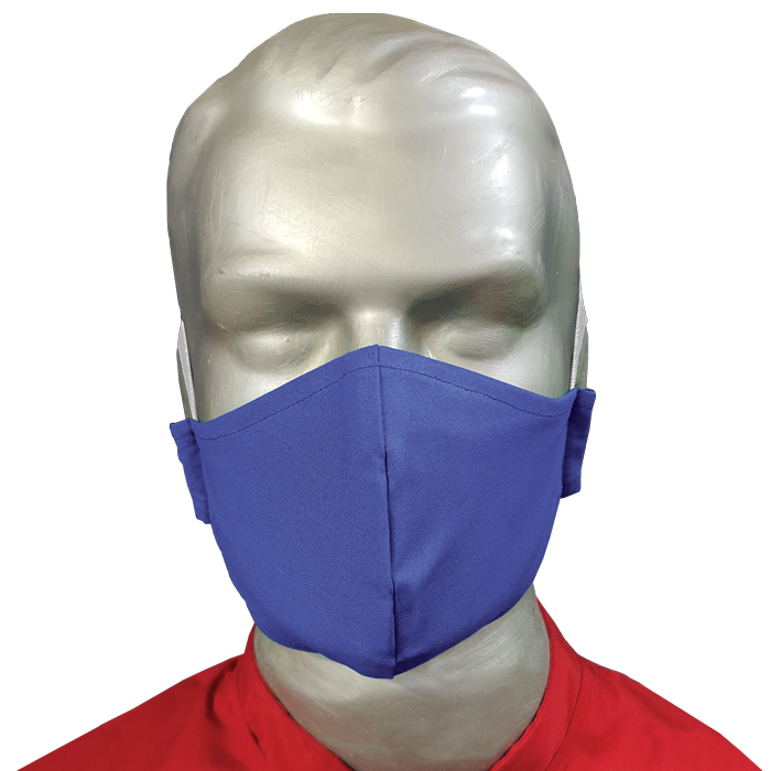 2 Ply Cotton Fabric Mask (pack Of 50)