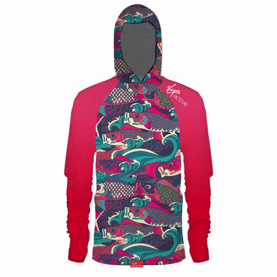 Fishing Shirt With Hood
