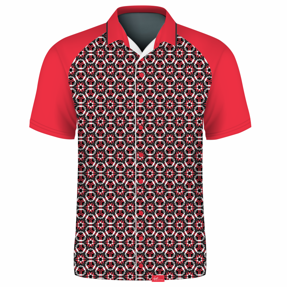 Fitted Button Down Shirt Short Sleeve