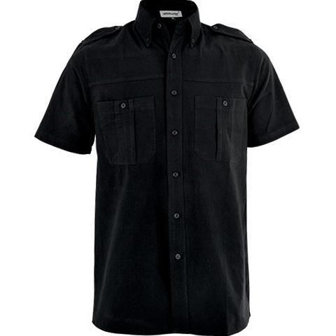 Tracker Short Sleeve Shirt - Black Only