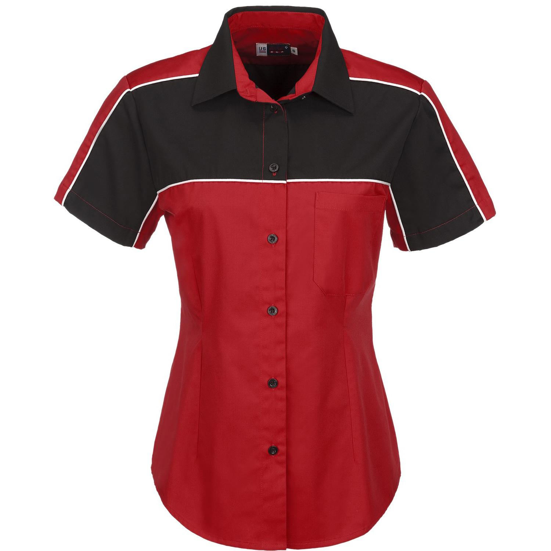 Ladies Daytona Pitt Shirt - Red Only