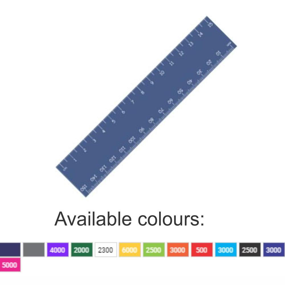 Stationery Gifts | 15cm Jumbo Ruler With 1 Colour Print - 1