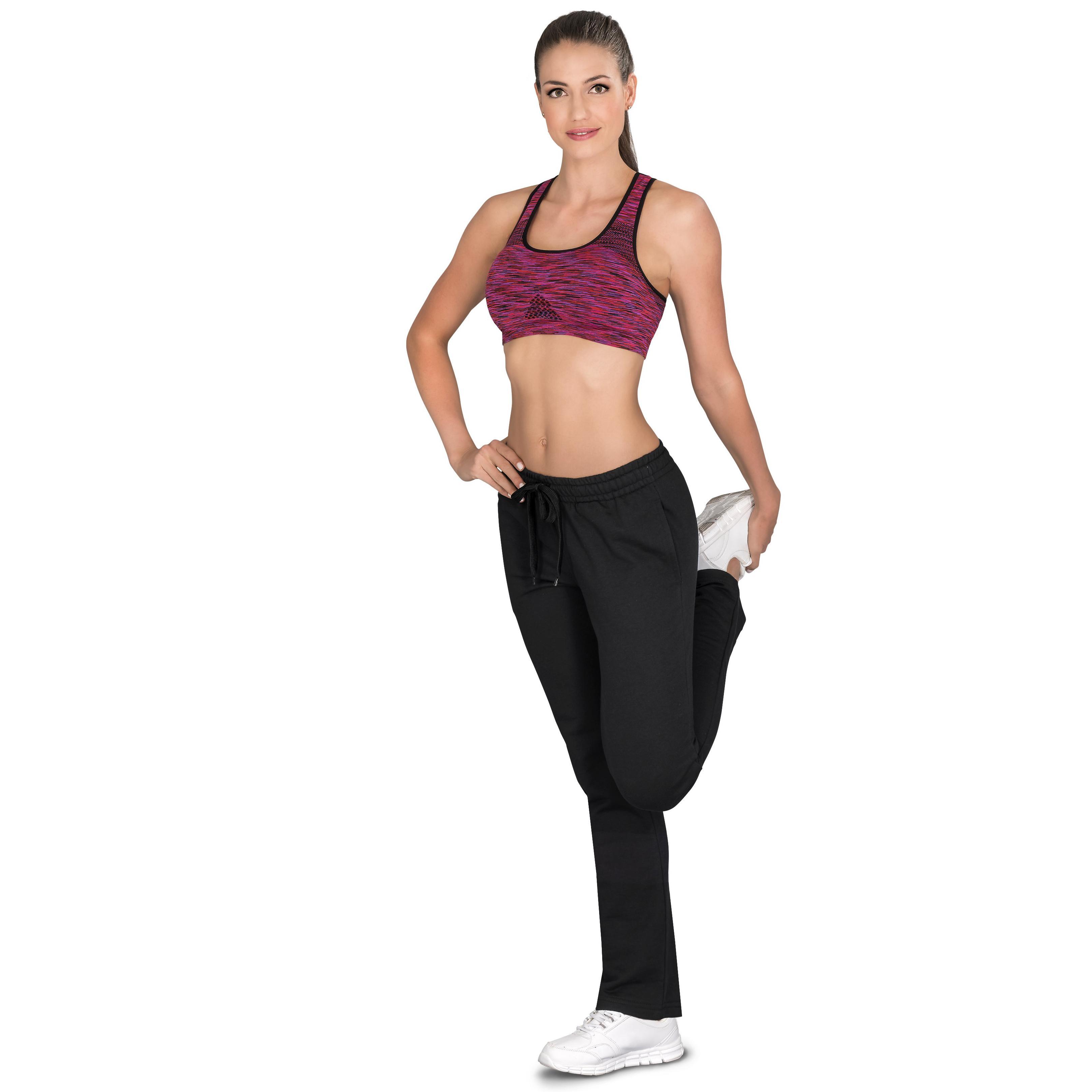Ladies Alpha Track Pants - Black Only