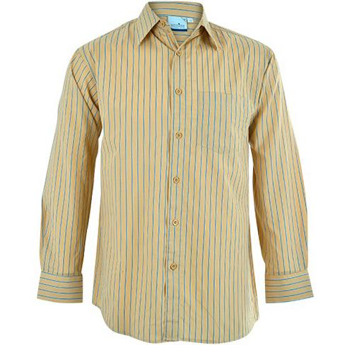 Finlay Long Sleeve Shirt - Stone Only