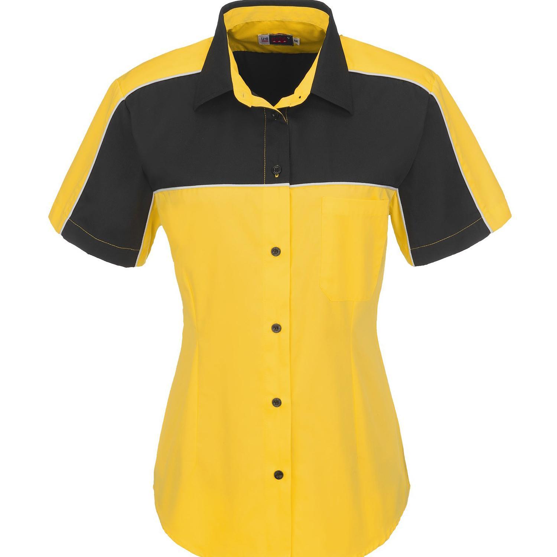 Ladies Daytona Pitt Shirt - Yellow Only
