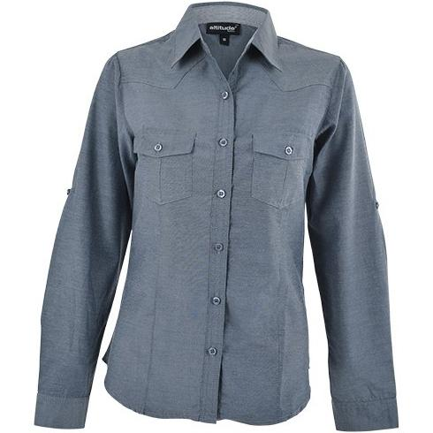 Ruby Blouse - Charcoal - Charcoal Only