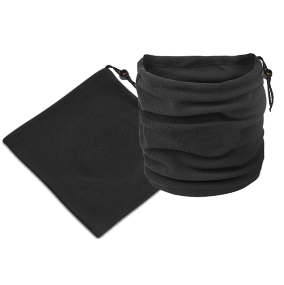 Black Chan Unbranded Neck Warmer