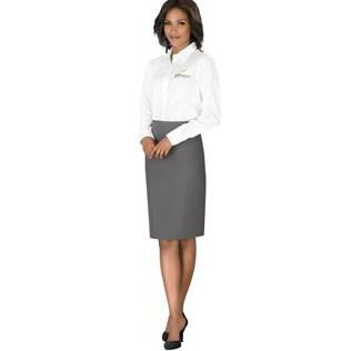 Ladies Long Sleeve Wilshire Shirt -white Only