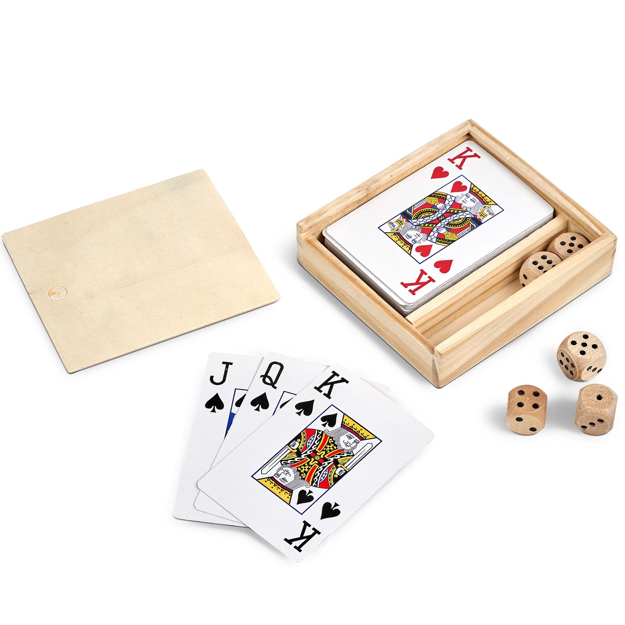 Mario Dice & Cards Set