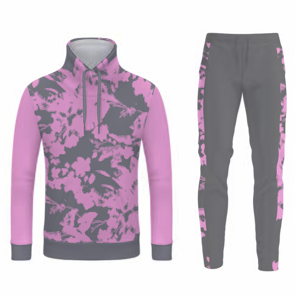 Tracksuit With Ribbing