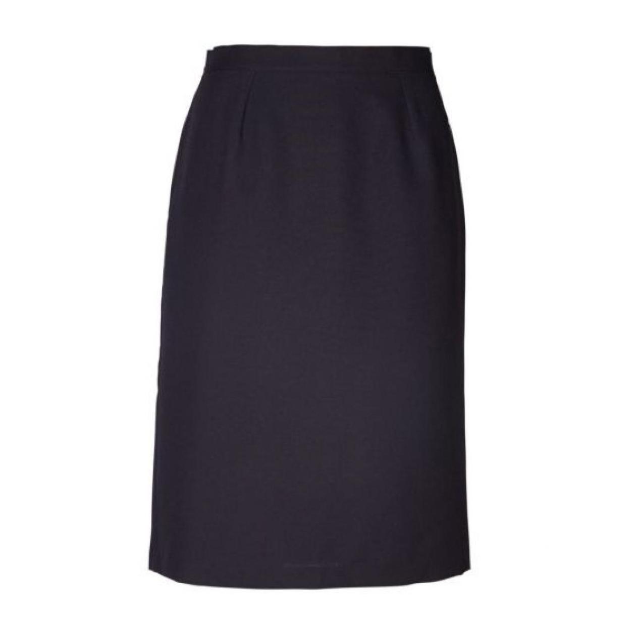 Emma Pencil Short Skirt - Navy
