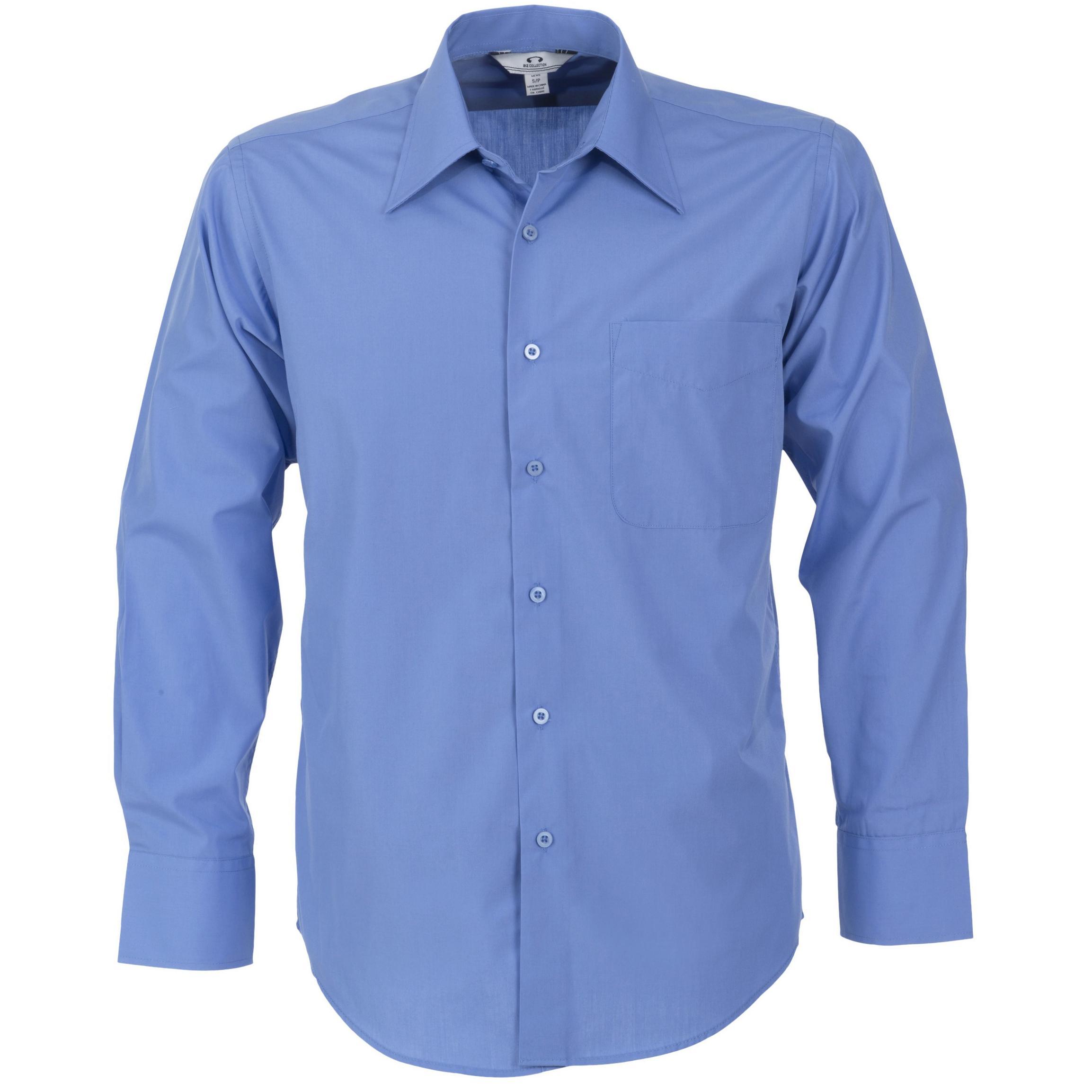 Mens Long Sleeve Metro Shirt