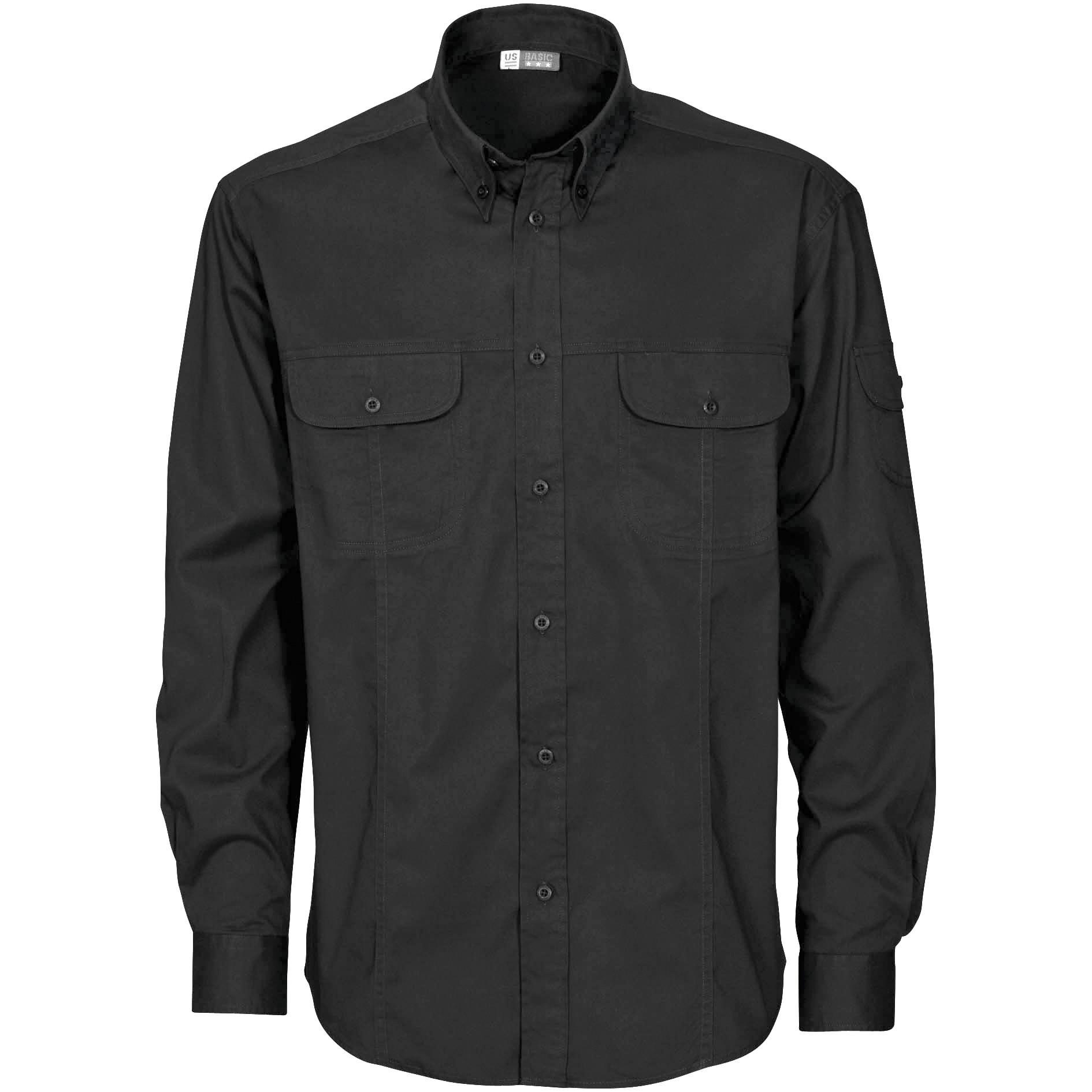 Mens Long Sleeve Phoenix Shirt - Black Only