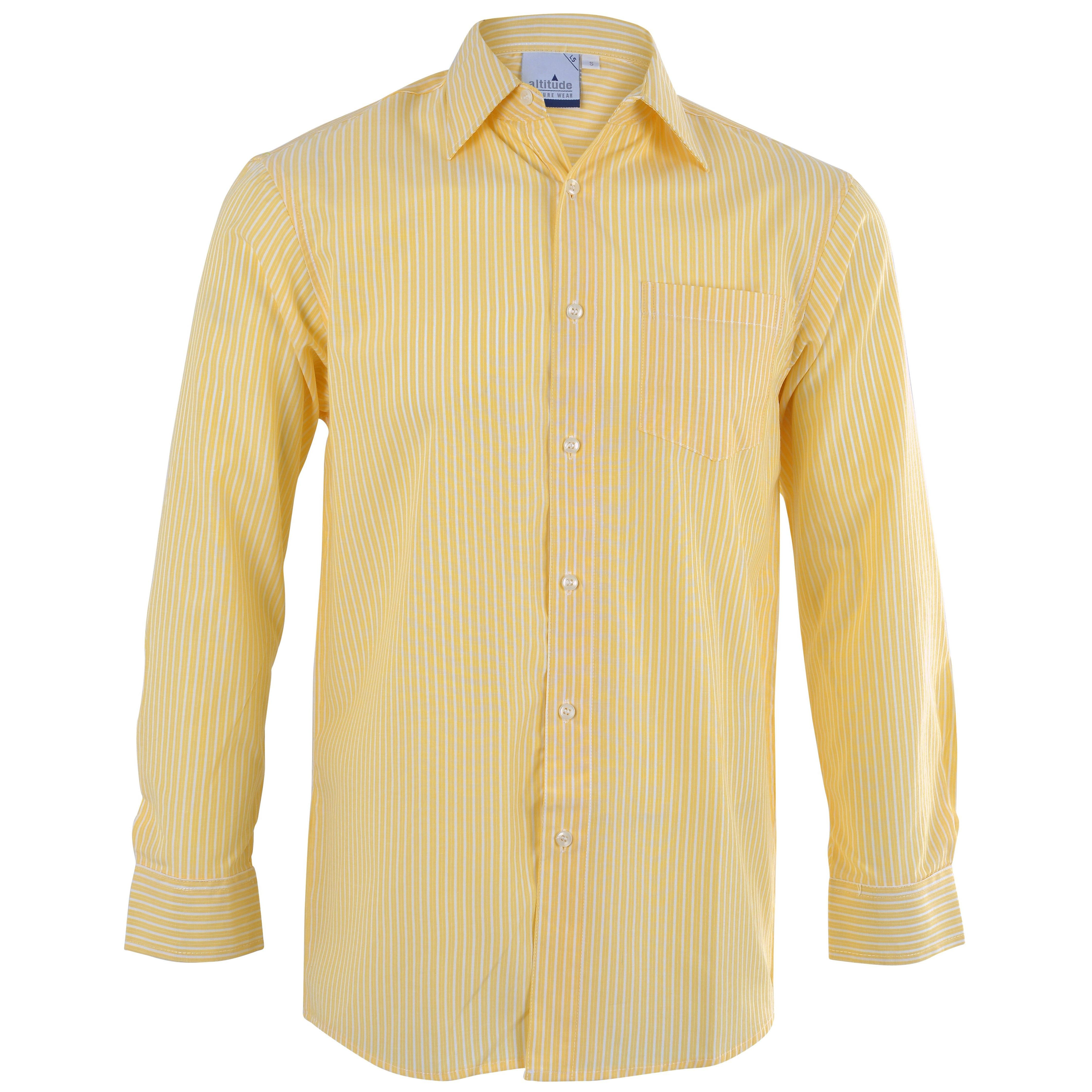 Drew Long Sleeve Shirt - Yellow Only