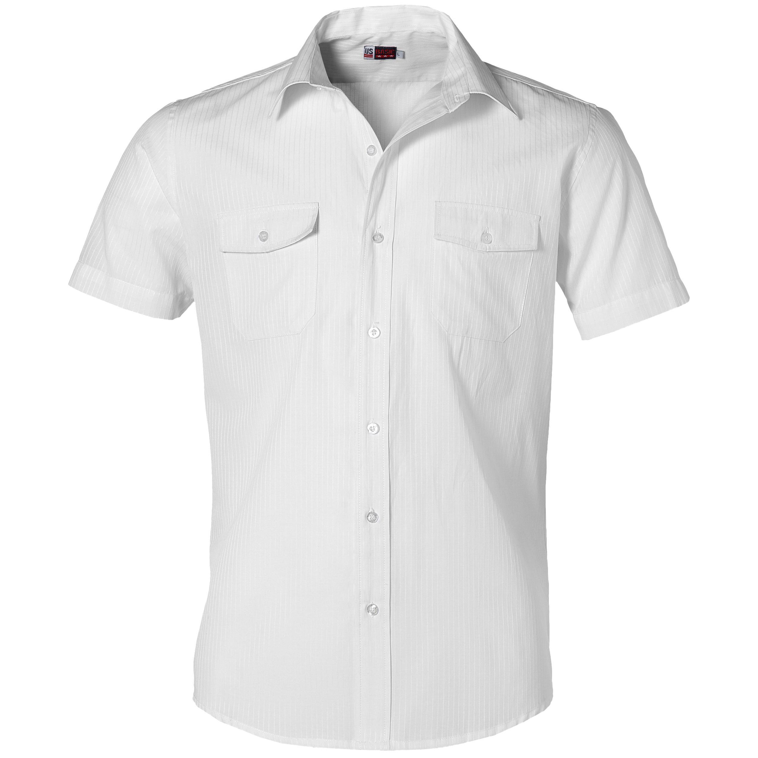 Mens Short Sleeve Bayport Shirt -white Only
