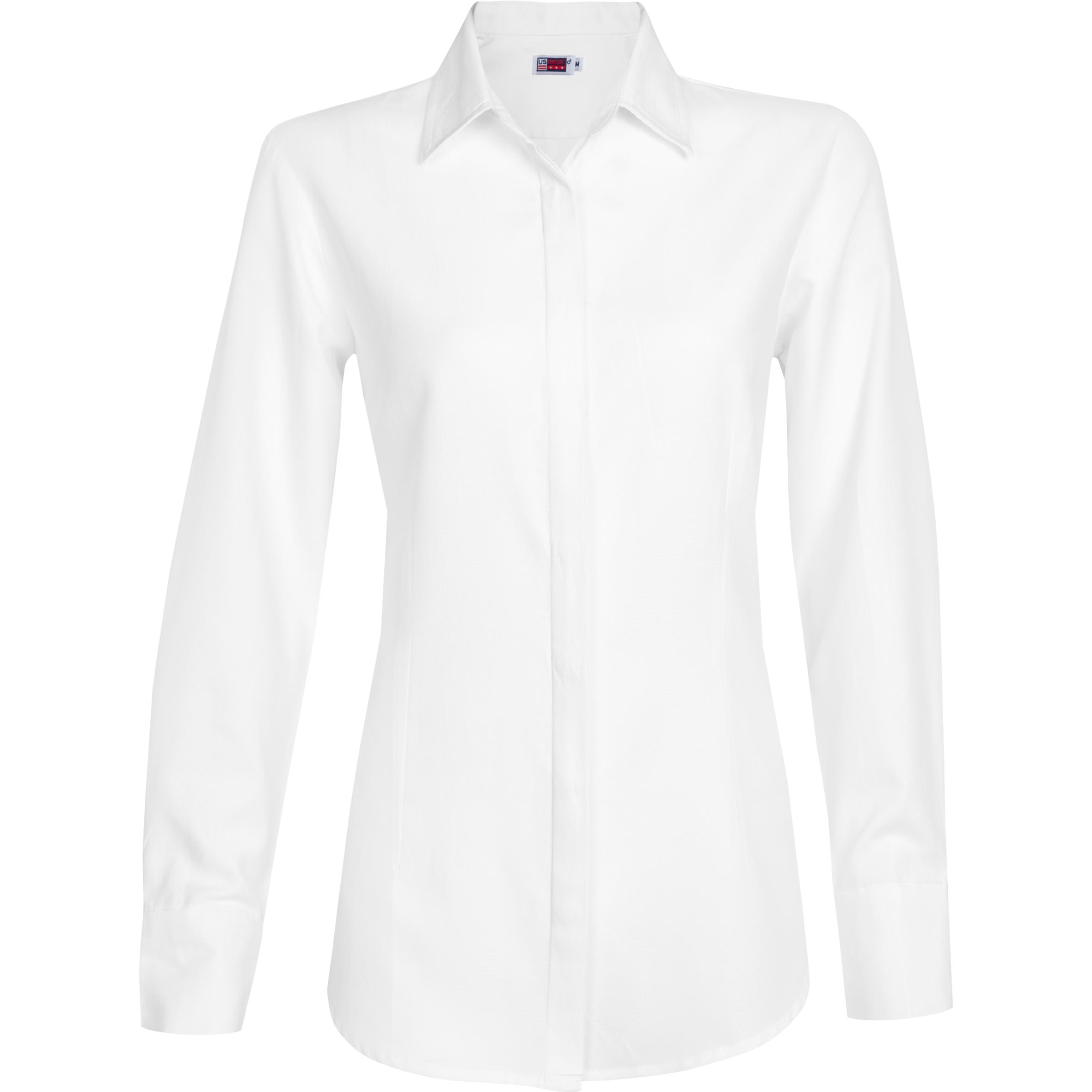 Ladies Long Sleeve Wallstreet Shirt