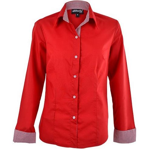 Dallas Blouse - Red Only