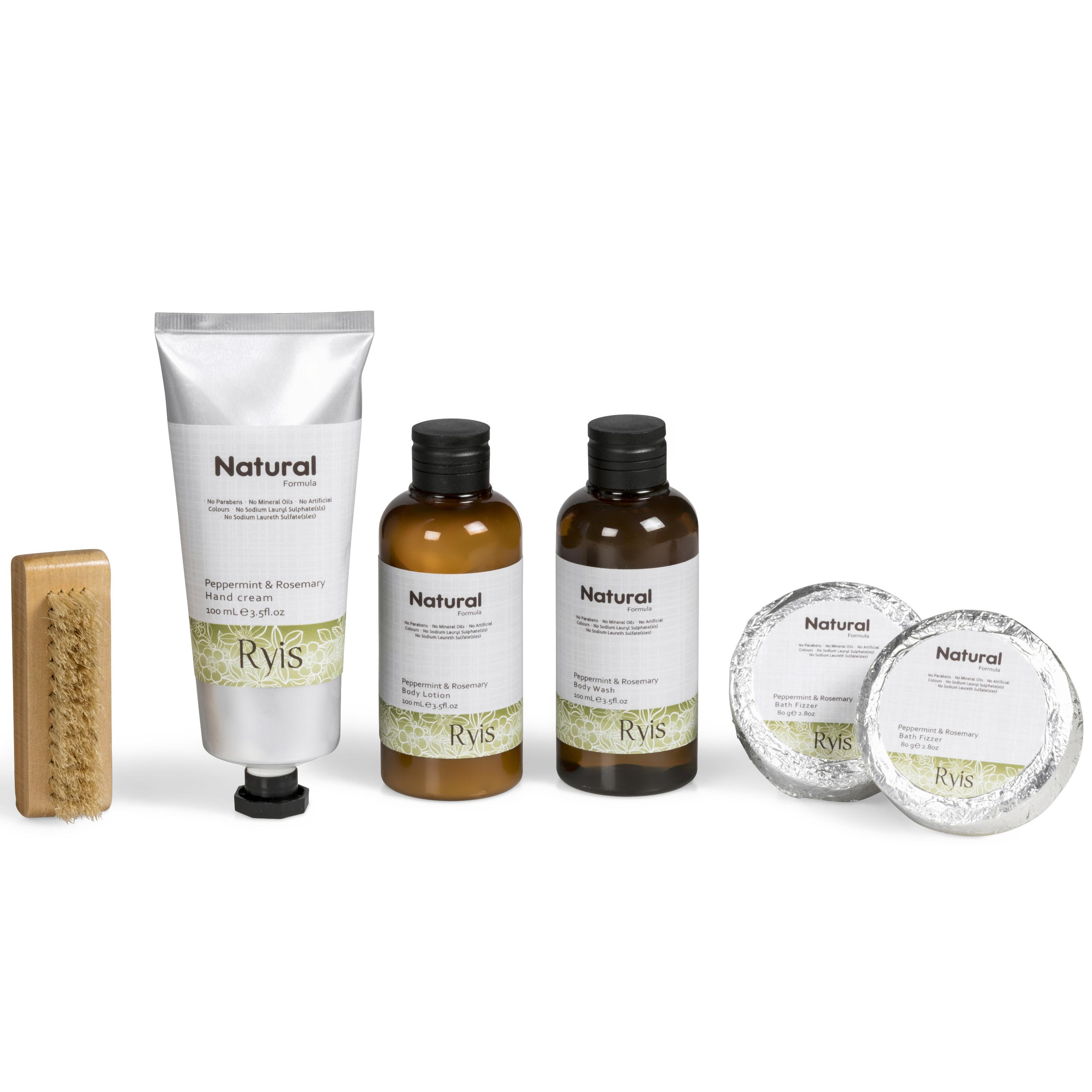 Giftsets | Ryis Peppermint & Rosemary Bath Gift Set - 1