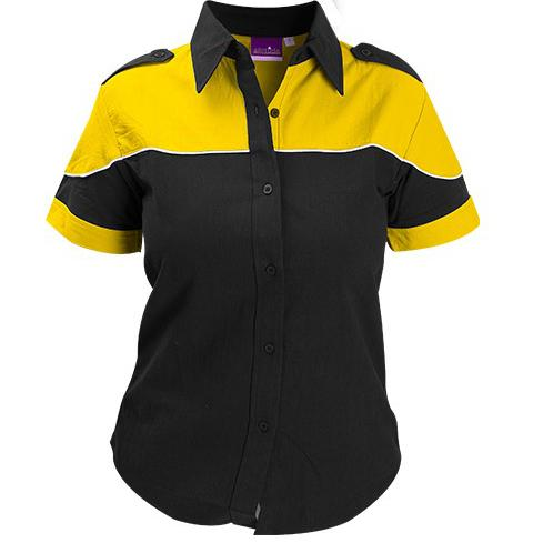 Racer Blouse - Yellow Only