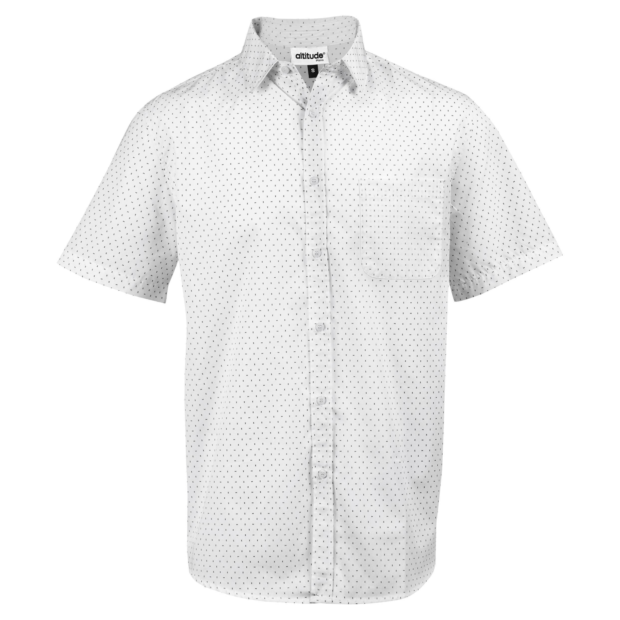 Mens Short Sleeve Duke Shirt - White Only