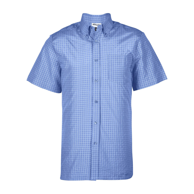 Mens Short Sleeve Prestige Shirt - Light Blue Only